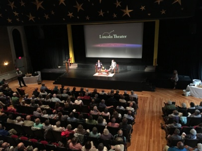 Charlie Cook, guest speaker at Lincoln Theater